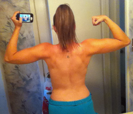 female bodybuilding before and after steroids
